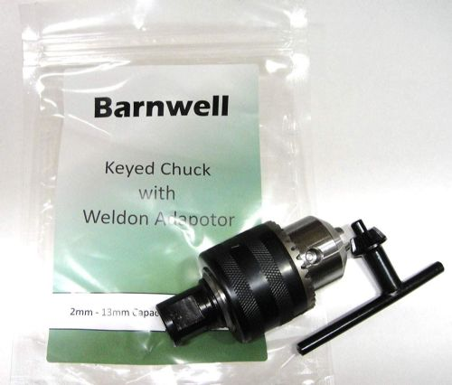 Barnwell Keyed Chuck with Weldon Adaptor